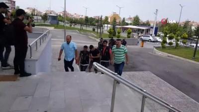 pompali tufek -  Karaman'da uyuşturucudan adliyeye sevk edilen 3 kişi tutuklandı