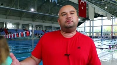 milli sporcu - Bir kulaçla değişen hayatlarını madalyayla süslediler - TEKİRDAĞ