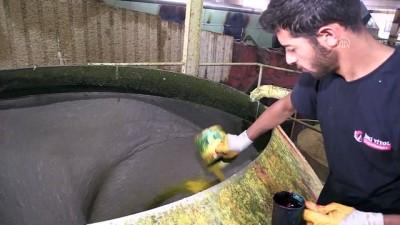 fabrika - Çalışma hayatlarının ikinci baharında üretime katkı sunuyorlar - ERZİNCAN