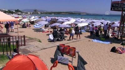 yabanci turist - Didim sahillerinde yoğunluk - AYDIN