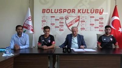 milli futbolcu - Boluspor, 3 yeni transferine imza attırdı