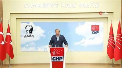 "CHP Parti Sözcüsü Öztrak'tan ""Doğu Akdeniz"" açıklaması"