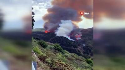 afet bolgesi -  - Kanarya Adaları'nda Yangın Yayılıyor - Dört Bin Kişi Tahliye Edildi