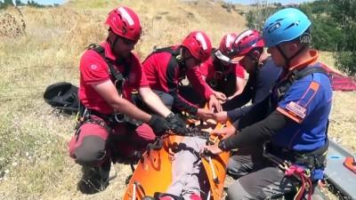 kurtarma tatbikati - Ahlat'ta UMKE ekibine eğitim verildi - BİTLİS