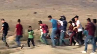 zirhli araclar - İsrail askerleri Gazze sınırında 49 Filistinliyi yaraladı - GAZZE