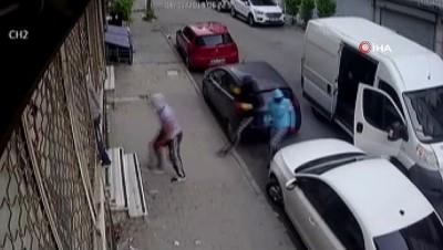 maskeli hirsizlar -  Sultangazi'de 200 bin liralık pantolon hırsızlığı kamerada