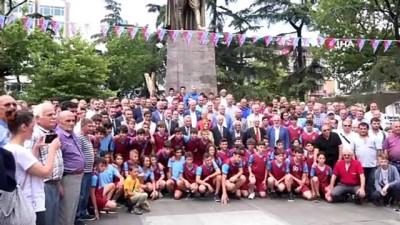 kirikli - Trabzonspor'un 52. kuruluş yıl dönümü düzenlenen etkinliklerle kutlandı