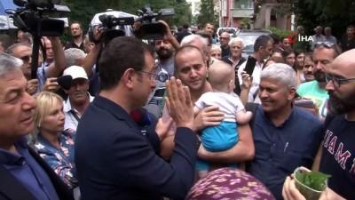 isten cikarma -  İBB Başkanı Ekrem İmamoğlu, Sarıyer'de incelemelerde bulundu