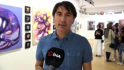cerikli -  Mehmet Akif Orçan'ın resim sergisi açıldı