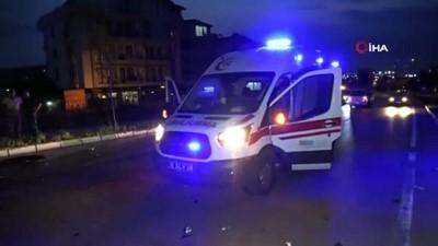 gece kulubu -  Müşteri olarak gittiği gece kulübünün şoförü ile kafa kafaya çarpıştı, olay yerinden kaçtı
