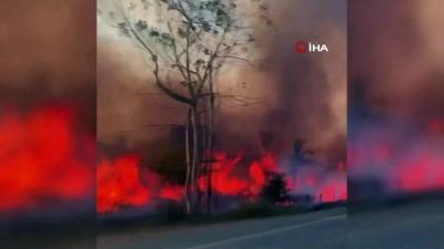orman yangini -  - NASA, Amazon Yangınlarını Uzaydan Görüntüledi - Dumanlar, Sao Paulo'yu Karanlığa Gömdü - Bu Yıl İçerisinde 73 Bin Yangın Tespit Edildi