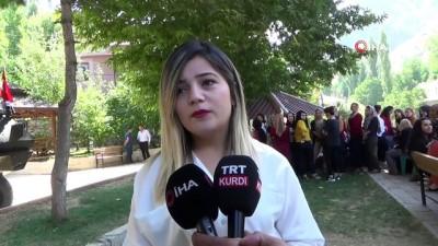 Uludere Kaymakamı Yakınoğlu'na vatandaşlardan hüzünlü veda