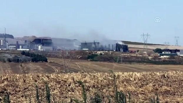 fabrika - Çorlu'da geri dönüşüm fabrikasında yangın - TEKİRDAĞ