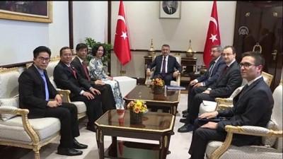 Cumhurbaşkanı Yardımcısı Oktay, Vietnam Komünist Partisi Merkez Komitesi Sekreteri Thi Mai ve beraberindekileri kabul etti - ANKARA