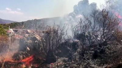 orman yangini - Fethiye'de orman yangını - MUĞLA