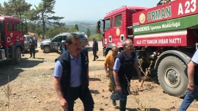 siddetli ruzgar - İzmir'deki yangınla ilgili soğutma ve soruşturma sürüyor - İZMİR