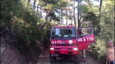 orman yangini - Marmaris'te orman yangını - MUĞLA
