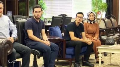 yabanci dil -  Üniversitelilerden Büyükşehir'e rehberlik teşekkürü