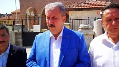 """BBP Genel Başkanı Destici: """" Mutlaka idamı geri getirmemiz lazım"""""""
