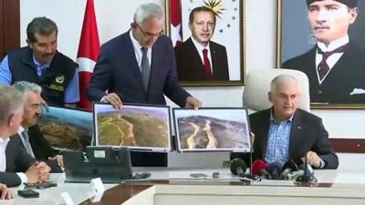 orman yangini - Binali Yıldırım: ''İzmir halkının kafasındaki yangın ile ilgili şüpheleri kaldırmak için geldik'' - İZMİR