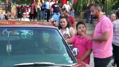 modeller -  Klasik otomobil tutkunları Kastamonu'da buluştu