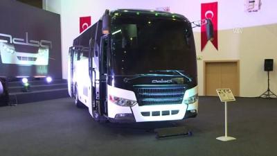 Türkiye'nin ilk sivil zırhlı midibüsü 'Adba' göreve hazır - ANKARA