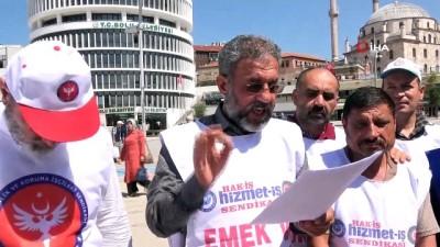 isten cikarma -  Bolu Belediyesi'nde işten çıkarılan işçiler 125 gündür eylemde