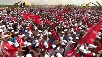Cumhurbaşkanı Erdoğan: 'Bir taraftan Atatürk'ün partisiyiz diyeceksin öbür taraftan Misak-ı Milli nedir bunu bilmeyeceksin'
