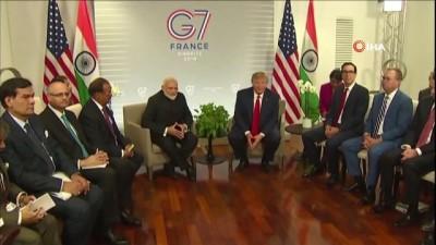 ticaret anlasmasi -  - Trump, Keşmir Krizinde Arabulucu Olmayacak - Donald Trump İle Narendra Modi Görüştü