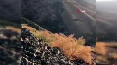 Şemdinli'de 8 teröristin etkisiz hale getirildiği operasyon kamerada