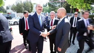 kabil -  - Adalet Bakanı Gül, Kktc Cumhuriyet Meclisi Başkanı Uluçay İle Görüştü