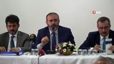"""felaket -  AK Parti'li Ünal: 'Dün özerklik ilan etmeye kalkışanlar bugün artık bittiler"""""""