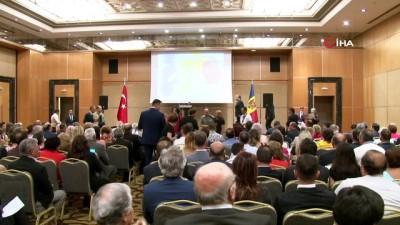 """Bakan Koca: """"Türkiye ve Moldova ticaret hacmi hedefi 1 milyar dolar"""""""
