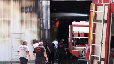 Tekstil deposundaki yangın söndürüldü - KAHRAMANMARAŞ