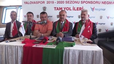 Yalovaspor'un forma göğüs sponsoru Negmar oldu - YALOVA