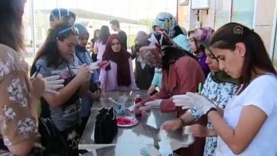 farkindalik yaratma - Elazığ'da 'kadına şiddete hayır' etkinliği