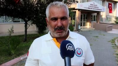 saglik personeli - Kaza yapan ambulans şoförüne darp iddiası - ADANA