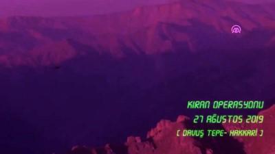 Kıran Operasyonu'na Atak helikopterlerinden hava desteği