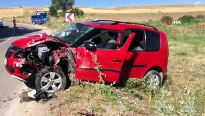 Bayburt'ta trafik kazası: 9 yaralı