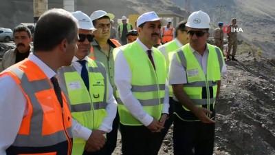 Karakurt Barajı'nda yıl sonunda su tutulmaya başlanacak