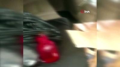 Lüks cip ile kaçak içki sevkiyatı polise takıldı