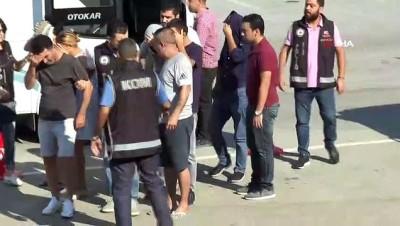 sinir disi -  Yabancı uyruklu kadınları bakıcılık vaadiyle fuhşa sürükleyen 13 kişi tutuklandı