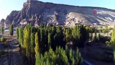 Aksaray'ın peribacaları olan Selime Katedrali turistlerin ilgi odağı oldu