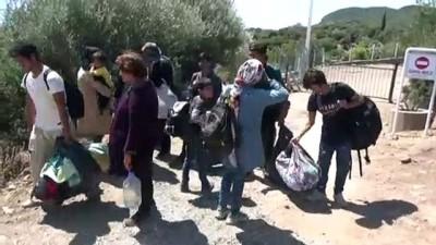 zeytinlik - 52 düzensiz göçmen yakalandı - ÇANAKKALE