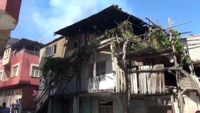 Kahramanmaraş'ta ev yangını