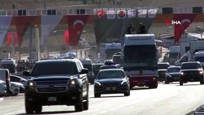 makam araci -  Cumhurbaşkanı Erdoğan, Bursalı kadınlara çay ikram etti