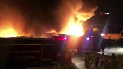 kimya -  Denizli'de kimyasal fabrikasında büyük yangın