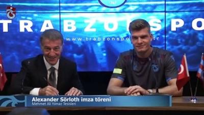 milli futbolcu - Trabzonspor, Alexander Sörloth ile sözleşme imzaladı - TRABZON