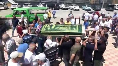 Yanan otobüste hayatını kaybeden İlhan Adalı son yolculuğuna uğurlandı
