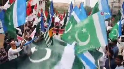siyasi parti -  - Hindistan'ın Cammu Keşmir kararına Pakistan halkından tepki